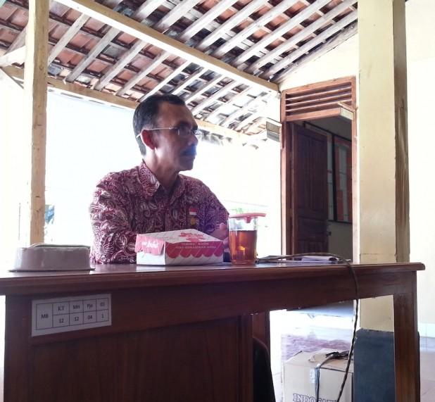 Kunjungan Desa Sendang Rejo - Pak Sumanto