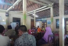 Proses Pengambilan Urutan Nomor Calon Lurah Desa Ponjong
