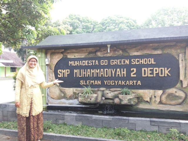 Ibu Diyah Puspitarini Ketua NA 2016-2020 dan Kepala Sekolah SMA Muhammadiyah 2 Depok