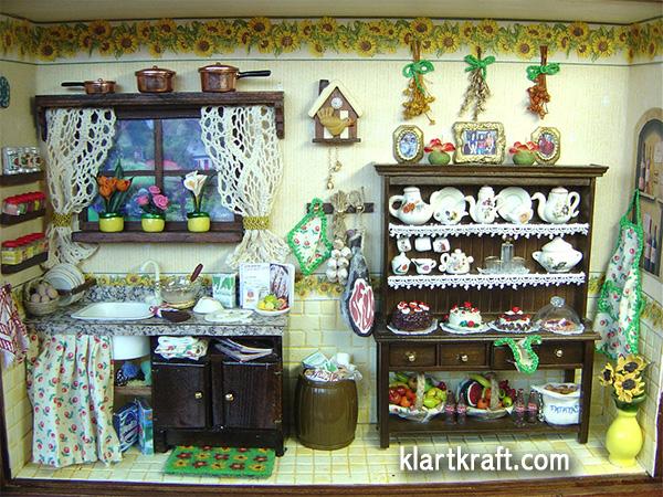 cocina en miniatura