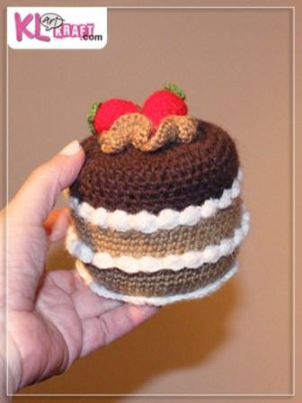 Caja tarta amigurumi