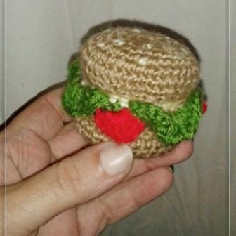 Mini Hamburguesa Caja