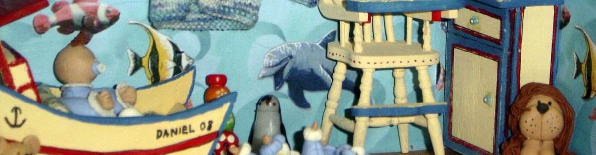 miniaturas y casas de muñecas