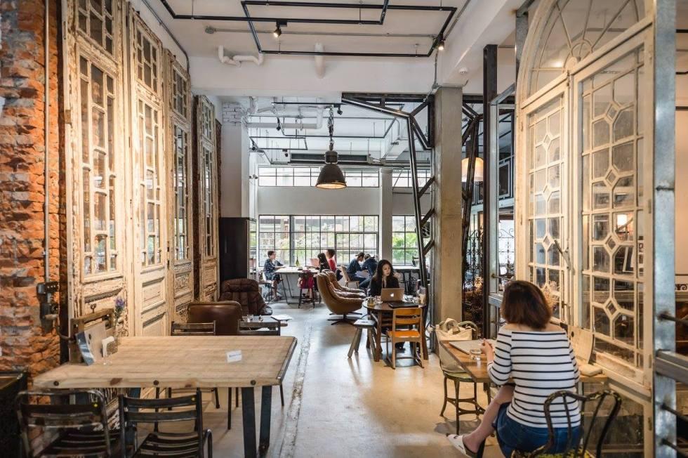 咖啡攝影棚 - TrufflesLiving 舒服生活老件咖啡館