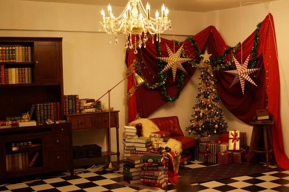田力力期間限定聖誕棚
