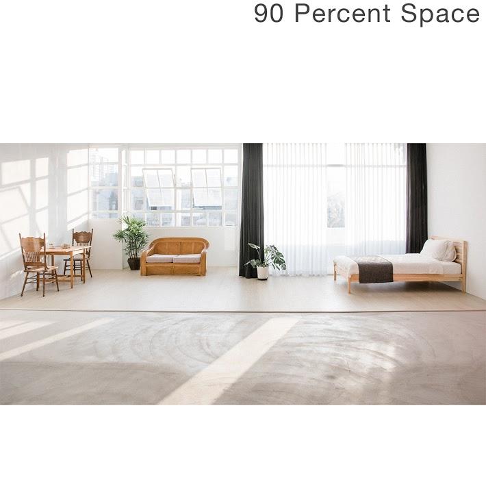 90 Percent Space