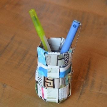 יצירה לילדים מחומרים ממוחזרים