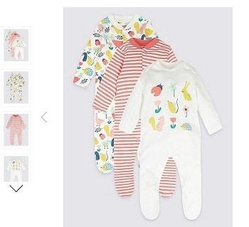 בגדי תינוקות מרקס אנד ספנסר