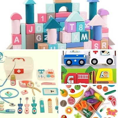 צעצועים מעץ לפעוטות אלי אקספרס