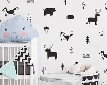 מדבקות קיר חדר ילדים