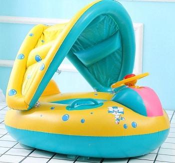 מתנפח לתינוקות לבריכה ולים