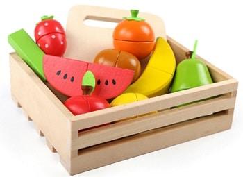 פירות מעץ לחיתוך מתנה לפעוטות