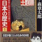 石ノ森章太郎さんのマンガ日本の歴史を読みました。