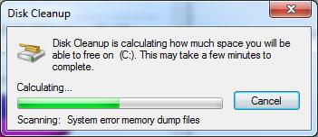 penyebab laptop yang lemot menggunakan cara disk cleanup di windows 7_2