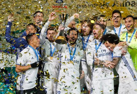 Aksi Tim Real Madrid