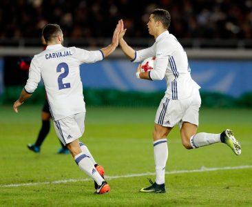 Ronaldo dan Carvajal Real Madrid