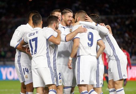 Tim Real Madrid Kompak