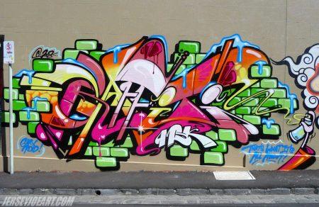gambar grafiti di tembok