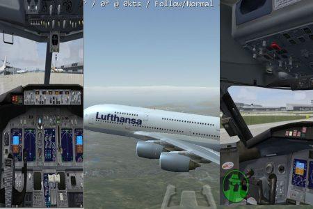 simulator pesawat terbang di android