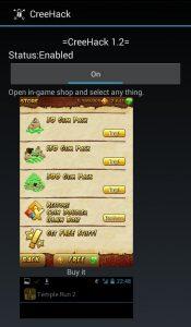 cara hack game android menggunakan creehack apk