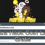 Cara Hack Coin Dan Point Line Gratis 2017