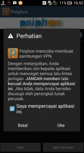 cara menggunakan aplikasi pshiphon di android
