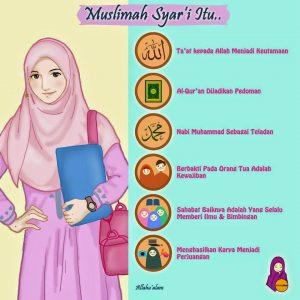 gambar DP BBM muslimah syair'i