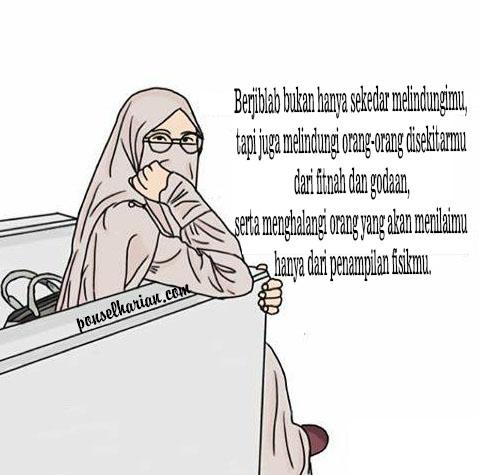 gambar wanita bercadar  Ponsel Harian