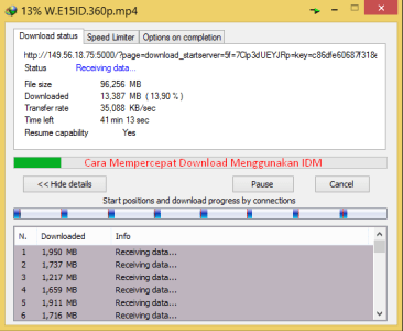 cara mempercepat download idm terbukti work di windows 7