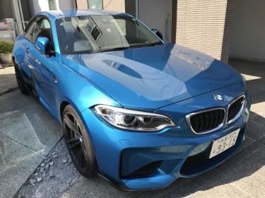 BMW M2の特別仕様はToto BMW限定!もう手を入れるところ無しのすごいやつです。