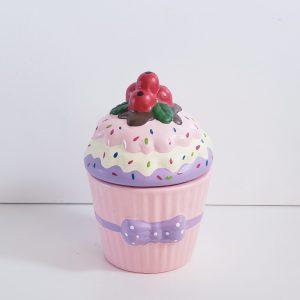 Cupcake de Cerâmica Decorativo