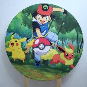 Tecido Sublimado Pokemon