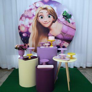 Festa Pocket Rapunzel Enrolados Mod2