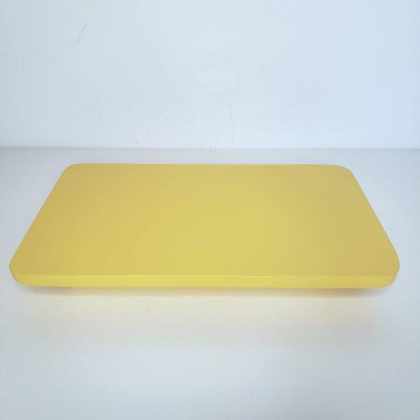Bandeja Retangular Amarelo