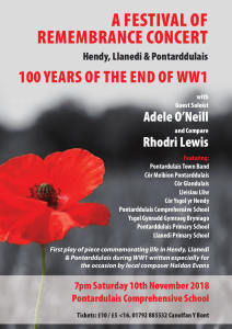 Festival of Remembrance 2018 poster