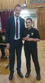 Most Promising Beginner - Cian Curry