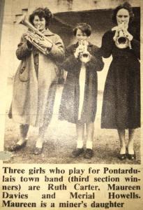 PTB Girls 1955