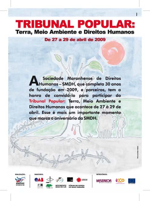Violações de Direitos Humanos pelo Estado serão debatidas durante três dias. Arte: Cesar Teixeira