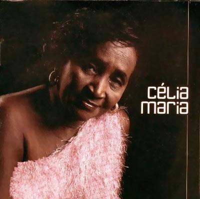 O disco homônimo, até aqui, único, lançado por Célia Maria em 2001. Capa. Reprodução.