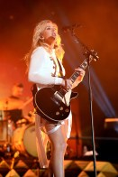 INDIO, CA - APRIL 15: Singer-songwriter Ellie Goulding performs onstage during day 1 of the 2016 Coachella Valley Music & Arts Festival Weekend 1 at the Empire Polo Club on April 15, 2016 in Indio, California. (Photo by Kevin Winter/Getty Images for Coachella)