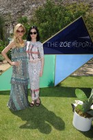 PALM SPRINGS, CA - APRIL 16: Rachel Zoe (L) and Leigh Lezark arrive at ZOEasis presented by The Zoe Report and Guess on April 16, 2016 in Palm Springs, California. (Photo by Joshua Blanchard/Getty Images for The Zoe Report)