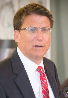By NCDOTcommunications - Governor McCrory.jpg, CC BY 2.0, via: Wikimedia Commons