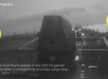 Exclusive: Footage of USS Fitzgerald After Collision w/ ACX Crystal