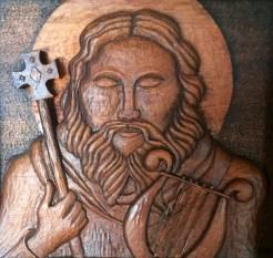 St. Dollan finshed detail