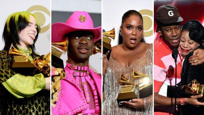 Premios Grammys 2020 - Ganadores