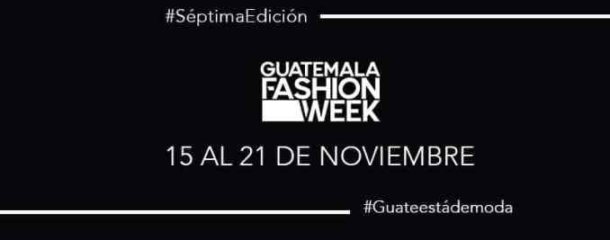 Guatemala Fashion Week 2020 - Agenda