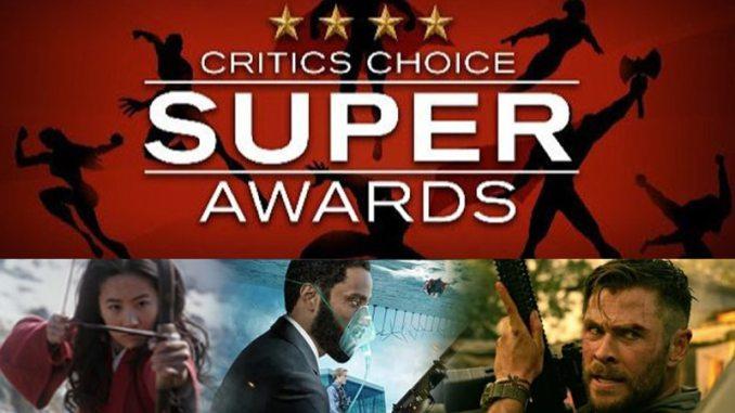 Critics Choice Super Awards - Películas