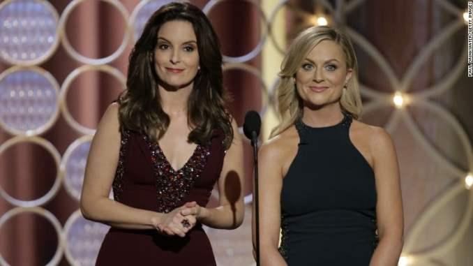 Tina Fey y Amy Poehler - anfitrionas de los Golden Globes Awards