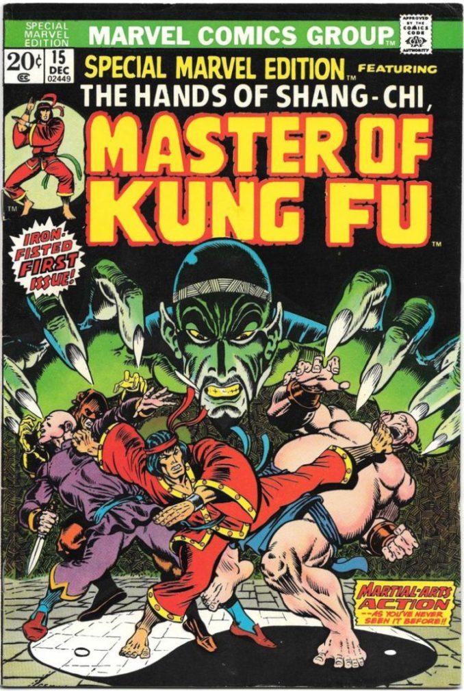 Shang-chi y la Leyenda de los Diez Anillos - Master of Kung Fu comic