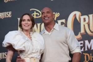 Emily Blunt, Dwayne Johnson - World Premiere of Jungle Cruise